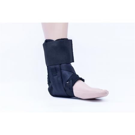 Medical laced up ankle foot braces